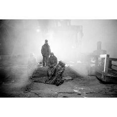 Heading into cold months recalls time spent in the Arctic Circle. These are workers at Norilsk Nickel one of the biggest nickel plants in the world. Tough place to live and work esp in wintertime. Norilsk is listed as one of the 10 most polluted places on earth. @joemcnallyphoto #winter #nickel #mining by natgeo