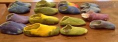 Age 13 ~ Handwork ~ Wet Felted Slippers ~ Tutorial~ Felting ~ project reasoning and information