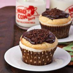 Boston Cream Cupcakes - Gluten Free!
