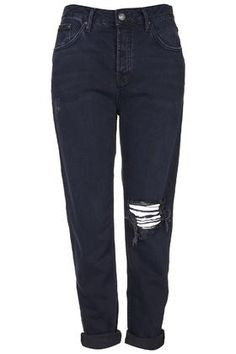 Your on trend distressed denim can be dressed up this Halloween. Try our blue black ripped jeans.