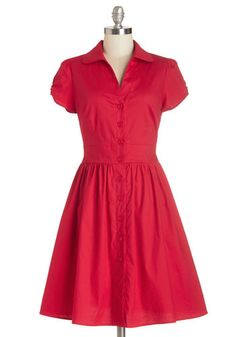 Shop 1940's Style Shirt Dress - Shirtwaist Dresses