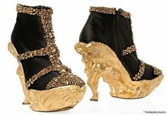 christian lacroix shoes - Definitely different!