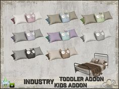 BuffSumm's Industry Toddler and Kids Pillow for Doublebed