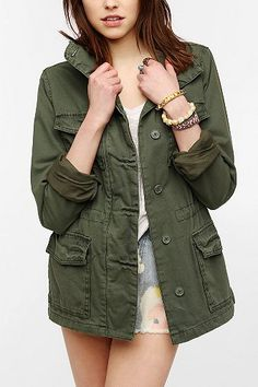 Army green military jacket | Green military jackets, Military ...