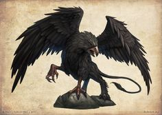 was the griffon a thunderbird??....Black Griffon by DevBurmak.deviantart.com on @deviantART