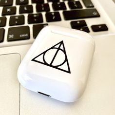 Tablet Phone, Air Pods, Airpod Case, Deathly Hallows, Draco Malfoy, Gifts For Girls, Handmade Items, Etsy Shop, Stickers