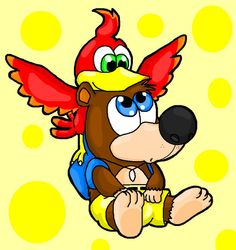 baby banjo and kazooie by *Nintendrawer on deviantART