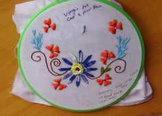 This video channel contains lot of Hand Embroidery work designs & paper craft designs.Today we know the simple & easiest hand Embroidery work is cast & picot. Hand Embroidery Designs, Embroidery Stitches, Stitch Design, Needlework, It Cast, Tutorials, Blouse, Youtube, Inspiration