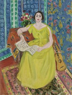 The Woman in Yellow - Henri Matisse 1923