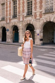 A Taste of Paris in the Summer | Gal Meets Glam #ShopStyle #SummerStyle