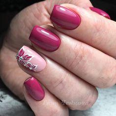 Fotografia Chic Nails, Fun Nails, Spring Nails, Summer Nails, Opi Nail Colors, Pretty Nail Art, Beautiful Nail Designs, Flower Nails, Manicure And Pedicure