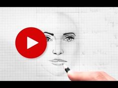 How to Draw a Face: Important Facial Proportions || Very Easy Drawing Tips Tricks 9