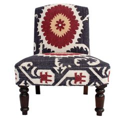 Suzani Accent Chair Multi, $549, now featured on Fab.