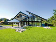 Casa prefabricada / moderna / ecológica / de 2 etapas ART 6-9 Huf Haus