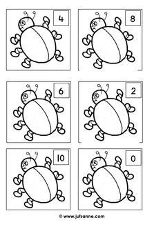 Teken het aantal aangegeven stippen [Juf Sanne]