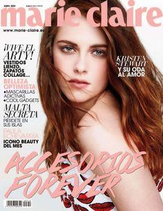 Kristen Stewart Covers Marie Claire Spain April 2014 | FashionMention