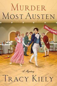 Goodreads | Murder Most Austen cover image. fun, cozy mysteries