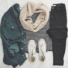 fabulous-looks:Stripe T-shirt»Blouse»