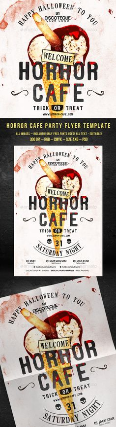 Voodoo Halloween Party Flyer Template PSD #design Download   - grand opening flyer template