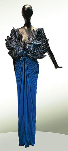 '90s dress by Roberto Capucci. Confident, sexy  wow dress