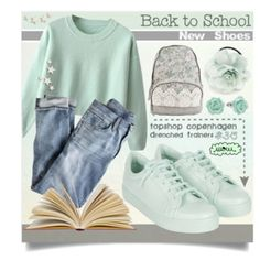 Back to School: New Shoes - Mint Green