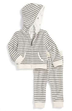 Burberry Hooded Jacket & Sweatpants (Baby Boys) available at #Nordstrom