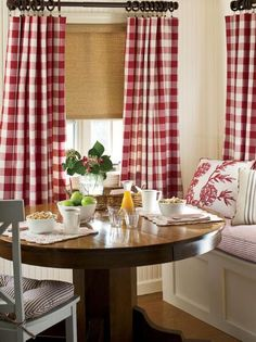 Charming Buffalo Check Rod Pocket Curtains from Country Curtains!