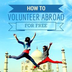 They say the best things in life are free and we agree! #volunteer #travel #inspiration