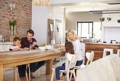 Image result for family + kitchen