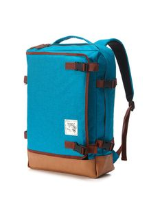 Etsy の Multipocket Backpack Turquoise by BagDoRi