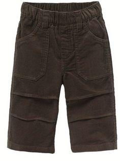 Boy's Pure Cotton Velour Trousers / La Redoute