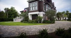 Subterra pavers put the perfect finishing touch on this coastal home. Would you live here?