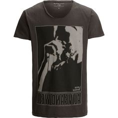 Graues T-Shirt mit #Print ab 19,95€ Hier kaufen:  http://stylefru.it/s229097 #shirt #grau