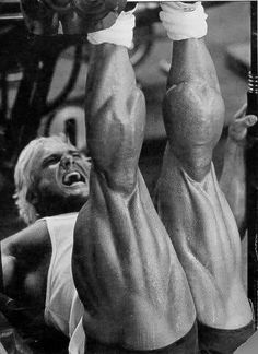 Tom Platz's leg development was ahead of its time.  MuscleUp Bodybuilding. ~ mikE™