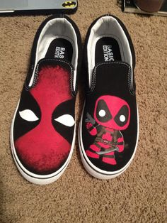 Deadpool kind of counts as pure awesomeness right?! Etsy.com/shop/Artscribbles