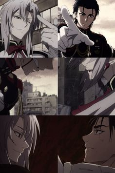 Ferid Bathory and Guren Ichinose parallels - Seraph of the End / Owari no Seraph