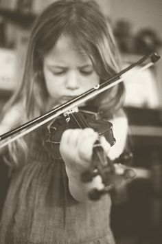 violin playing
