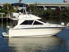 30' Sea Ray 1988 305 Sedan Bridge Boat For Sale www.EdwardsYachtSales.com