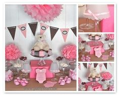 love the colors for a baby shower.