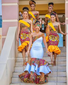 2020 Inspirational African Fashion Styles That Are Classic For Latest Ovation Styles in Vogue African Print Wedding Dress, African Bridesmaid Dresses, African Wedding Attire, African Weddings, Nigerian Weddings, African Attire, African Wear, Latest African Fashion Dresses, African Dresses For Women