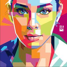 make awesome Wedhaisme Portrait by laksanardie