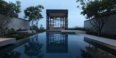 Private pool and cabana at Alila Villas Uluwatu, Bali