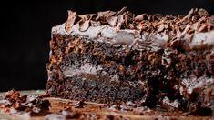 BOLO MOUSSE DE CHOCOLATE - Daquela sobremesa que quando você vê pronta nem acredita que foi sua mão que fez :O
