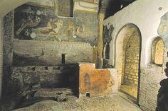 The Nimfeo do Proserpina from the Case Romane del Celio beneath the Ss. Giovanni and Paolo, Rome.