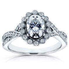 Love the ring but wish it was a diamond and not moissonite