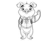 Piggie by AndyToonz