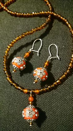 Indonesian beads set
