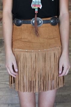 Desert Wind Skirt & Outlaw Belt ltbboutique.com