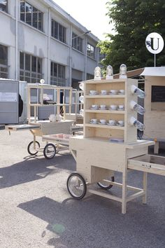 "SALON DEL MOBILE,Milan, Italy, ""Shop on Wheels"",photo by Wij Zijn Kees,The Netherlands, pinned by Ton van der Veer"""