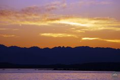 Sunset in #Seattle from Centennial Park